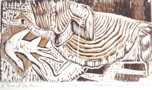 l'eve d'autun88 Woodcut
