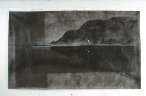 """Landscape # 1 Baie St Paul Series 2000  54"""" x 90"""""""