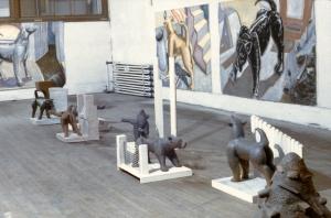 Dogs  Clark Street Studio, Montreal 1984