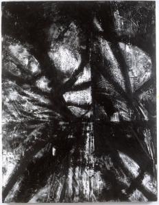 """66"""" x 46"""" encaustic on wood 1997"""