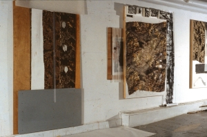 Cornwallis Street studio 2006 Camouflage series