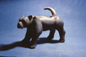 Terrier 1983 clay and oxide